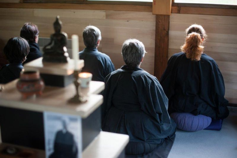 Méditation assise, zazen